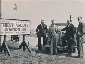 Photo:Tollerton - Trent Valley Aviation company photograph