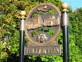 Photo:Tollerton village sign