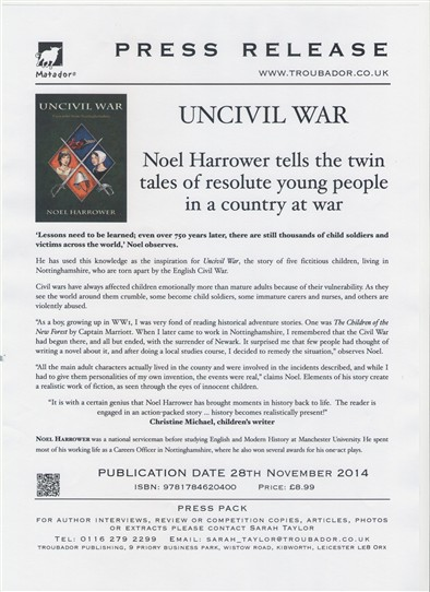 Photo: Illustrative image for the 'UNCIVIL WAR' page