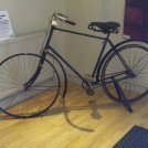 Photo:On loan from Wollaton Industrial Museum, an early Humber bicycle