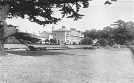 Photo:Worksop Manor in 1900, then owned by Mr John Robinson, High Sheriff of Nottinghamshire