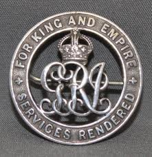 Photo:Silver War Badge