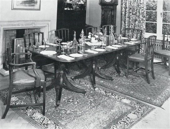 Photo:The Dining Room in the early 1960s