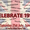 Page link: Celebrate 1918 at Hayton village