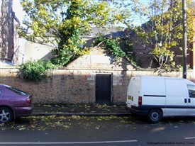 Photo:The site of the Jewish Cemetery on North Sherwood Street