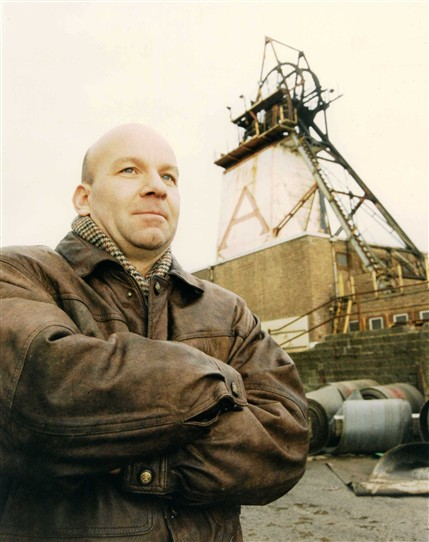 Photo:David Amos - last shift at the end of January 2000