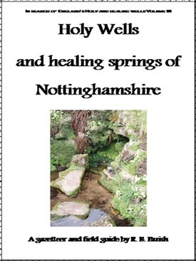 Photo: Illustrative image for the 'Holy Wells and healing springs of Nottinghamshire book' page