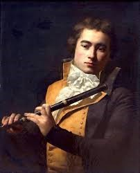 Photo:Oboist of the 1790s