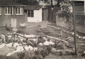 Photo:Grandad always kept the grounds spotless. He worked really hard and loved the garden and pond