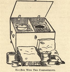 Photo: Illustrative image for the 'Who Remembers Hay-Box Cookery?' page