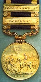 Photo:2nd Sikh War medal