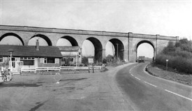 Photo:Awsworth Viaduct in 1973