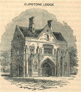 Photo:'Clipstone Lodge' (Archway House) in 1850